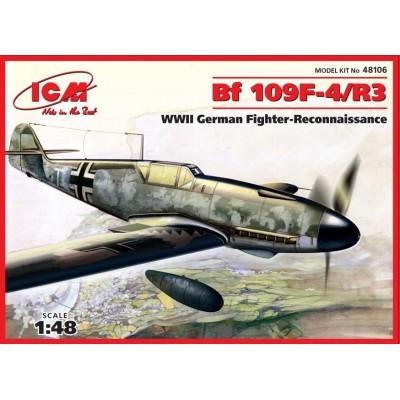MESSERCHMIT Bf-109 F-4 / R-3 1/48 - ICM 48106