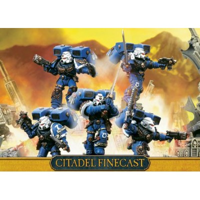 SPACE MARINE SKYHAMMER SQUAD - GAMES WORKSHOP 48-43