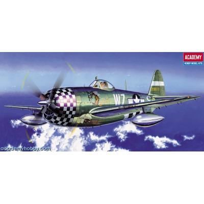 REPUBLIC P-47 D THUNDERBOLT 1/72 - Academy 12474