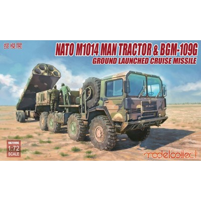 TRACTOR M-1001 & MISIL PERSHING II 1/72 - ModelCollect UA72084