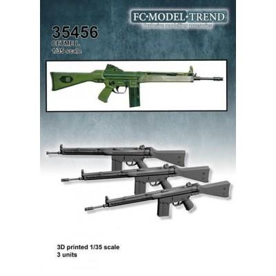 FUSILES DE ASALTO CETME L -3 unidades- 1/35 FC Modeltips 35456