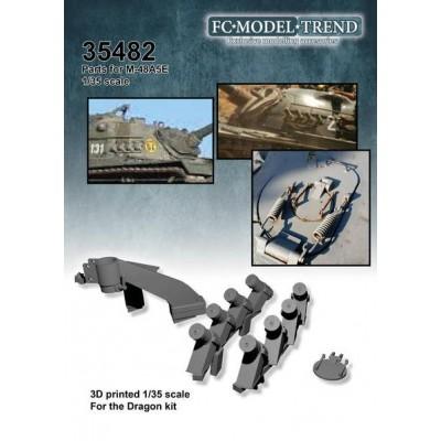 SET ACCESORIOS CARRO M-48 A5E 1/35 - FC Modeltips 35482