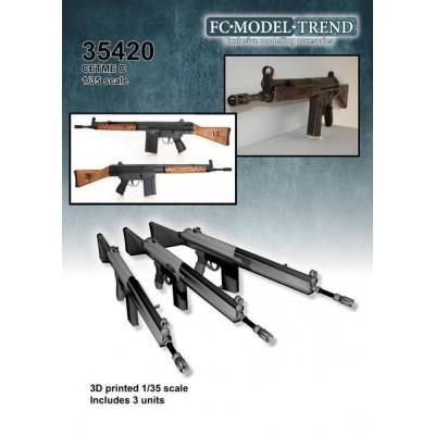 FUSILES DE ASALTO CETME C -3 unidades- 1/35 - FC Modeltips 35420