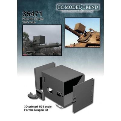 FOCO IR PARA CARRO M-48 1/35 - FC Modeltips 35471