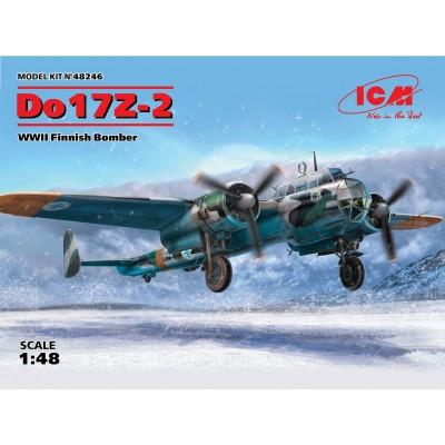 DORNIER DO-17 Z-2 -Finlandia- 1/48 - ICM 48246