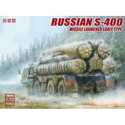 CAMION LANZAMISILES S-400 1/72 - Modelcollect UA72114