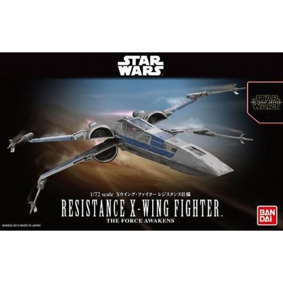 STAR WARS: RESISTANCE X-WING 1/72 - Bandai 0202289