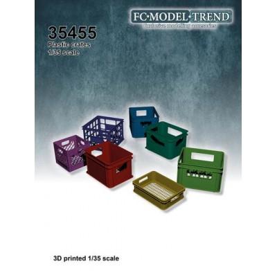 CAJAS DE PLASTICO 1/35 - FC Modeltips 35455