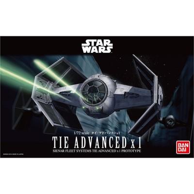 STAR WARS: TIE ADVANCED x 1 1/72 - Bandai 0191407