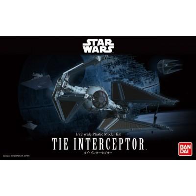 STAR WARS: TIE INTERCEPTOR 1/72 - Bandai 0208099