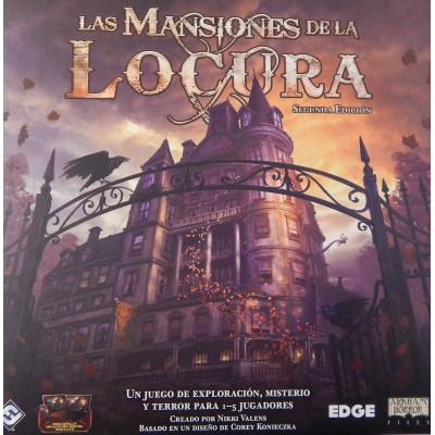 LAS MANSIONES DE LA LOCURA 2ª EDICION - FANTASY FLIGHT MAD20