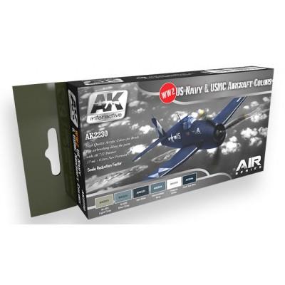 AIR Series: U.S. Navy & U.S.M.C. AIRCRAFT COLORS - AK 2230