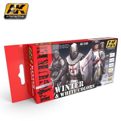 FIGURE series: WINTER & WHITE COLORS - AK 3160