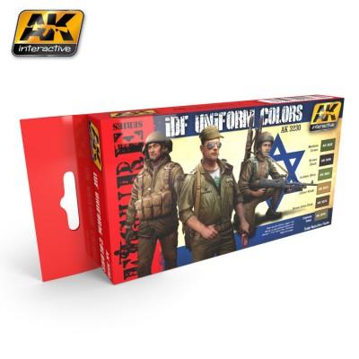 FIGURE series: I.D.F. UNIFORM COLORS - AK 3230