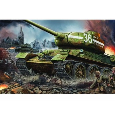 CARRO DE COMBATE T-34/85 (1.944) 1/16