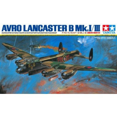 AVRO LANCASTER B.MK- I / III 1/48 - Tamiya 61112