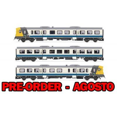 AUTOMOTOR RENFE 592 CAMELLO BLANCO Y AZUL - ESCALA N - ARNOLD HN2411