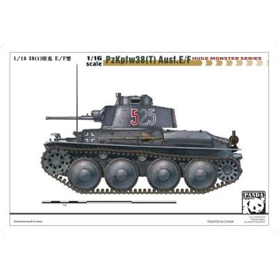 CARRO DE COMBATE SKODA 38(t) Ausf. E/F 1/16 - Panda Hobby 16001