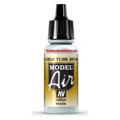 PINTURA ACRILICA AZUL CIELO (17 ml)