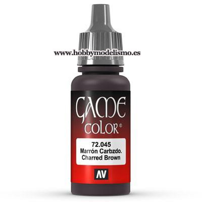 PINTURA ACRILICA MARRON CARBONIZADO (17 ml)