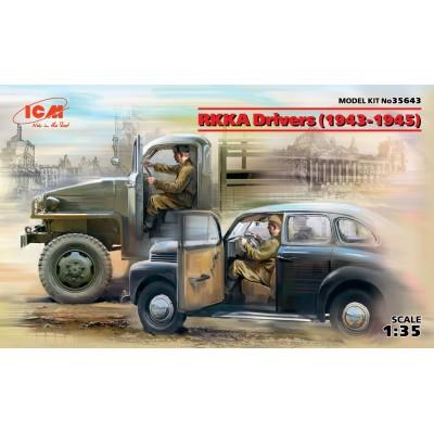 CONDUCTORES EJERCITO SOVIETICO 1/35 - ICM 35643