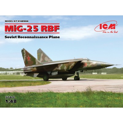 MIKOYAN GUREVICH MIG-25 RBF FOXBAT 1/48 - ICM 48904