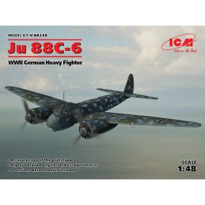 JUNKERS JU-88 C-6 1/48 ICM 48238