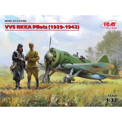 PILOTOS SOVIETICOS VVS 1/32 - ICM 32102