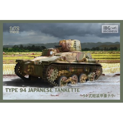 TANQUETA JAPONESA TIPO 94 - ESCALA 1/72 - IBG 72043