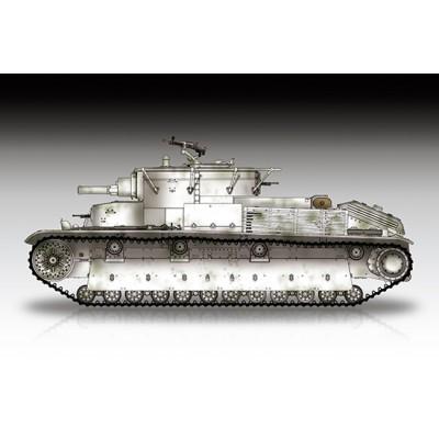 CARRO DE COMBATE T-28 -Riveted- 1/72 - Trumpeter 07151