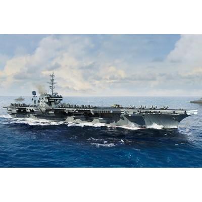 PORTAAVIONES U.S.S. KITTY HAWK CV-63 1/700 - Trumpeter 06714