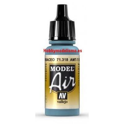 PINTURA ACRILICA AZUL GRISACEO AMT-7 (17 ml)