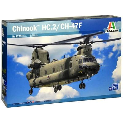 BOEING VERTOL CH-47 D CHINOOK - ESCALA 1/48 - ITALERI 2779