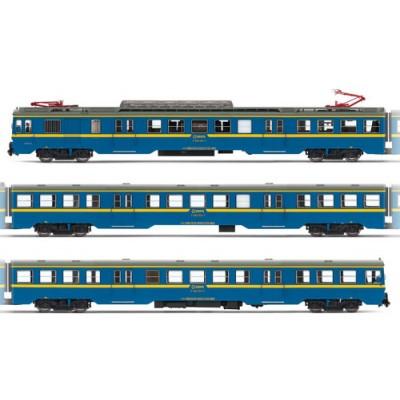 AUTOMOTOR 440 RENFE CHOPPER AZUL Y AMARILLO - ELECTROTREN 3623S