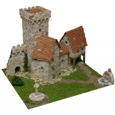 TORRE MEDIEVAL (220 x 250 x 285 mm) S/Escala