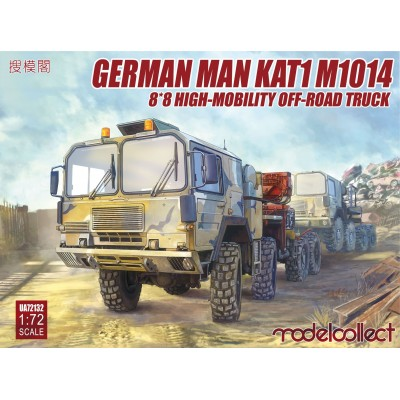 CAMION MAN KAT1M1014 8x8 HIGH MOBILITY - ESCALA 1/72 - MODELCOLLECT UA72132