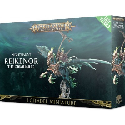 NIGHTHAUNT REIKENOR THE GRIMHAILER - GAMES WORKSHOP 71-13 - EASY TO BUILD