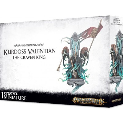 KURDOSS VALENTIAN THE CRAVEN KING - GAMES WORKSHOP 91-24