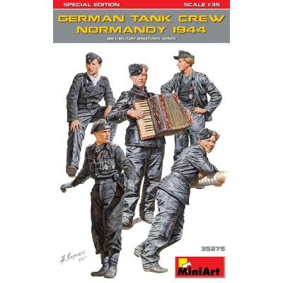 TRIPULANTES DE CARRO ALEMANES -Normandia 1944- Ed. Especial 1/35 - MiniArnt 35275