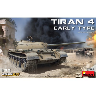 CARRO DE COMBATE TIRAN 4 Early 1/35 - MiniArt 37001