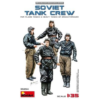 TRIPULACION SOVIETICA CARROS 1/35 - MiniArt 35254