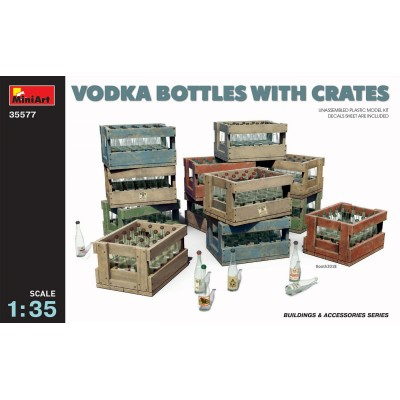 CAJAS Y BOTELLAS DE VODKA 1/35 - MiniArt 35577