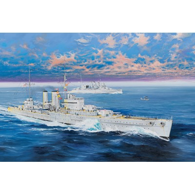 CRUCERO H.M.S. EXETER 1/350 - Trumpeter 05350