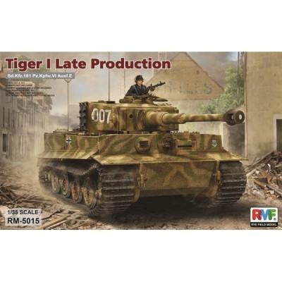 CARRO DE COMBATE SD.KFZ. 181 TIGER I Ausf. E Late 1/35 - Rye Field Model 5015