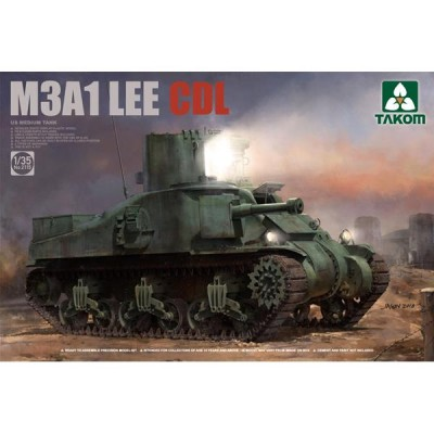 CARRO DE COMBATE M-3 A1 LEE CDL 1/35 - Takom 2115