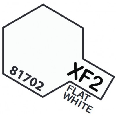 PINTURA ACRILICA BLANCO MATE XF-2 (10 ml)