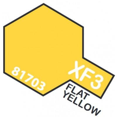 PINTURA ACRILICA AMARILLO MATE XF-3 (10 ml)