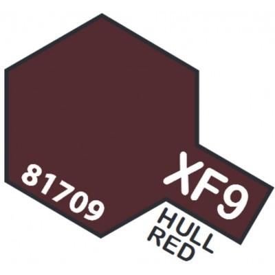 PINTURA ACRILICA ROJO CASCO MATE XF-9 (10 ml)
