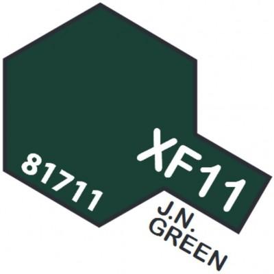 PINTURA ACRILICA VERDE MARINA JAPONESA MATE XF-11 (10 ml)