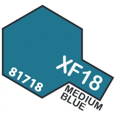 PINTURA ACRILICA AZUL MEDIO XF-18 (10 ml)